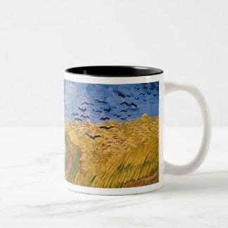Wheatfield de Vincent van Gogh | avec des Tasse 2 Couleurs