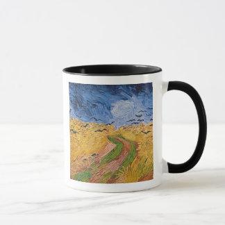 Wheatfield de Vincent van Gogh | avec des Tasses