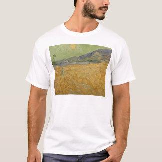Wheatfield de Vincent van Gogh | avec Reaper, 1889 T-shirt