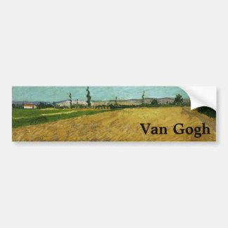 Wheatfield par Vincent van Gogh Autocollants Pour Voiture