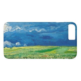 Wheatfield sous des nuages noirs par Vincent van Coque iPhone 7 Plus