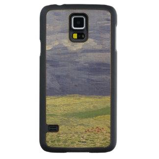 Wheatfields de Vincent van Gogh | sous le nuage Coque Galaxy S5 En Érable