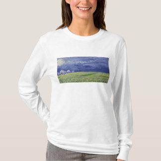 Wheatfields de Vincent van Gogh   sous le nuage T-shirt