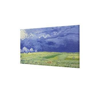 Wheatfields de Vincent van Gogh | sous le nuage Toiles