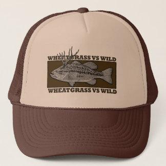 Wheatgrass CONTRE le casquette sauvage de