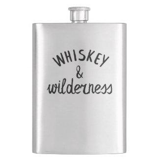 Whiskey et région sauvage flacons