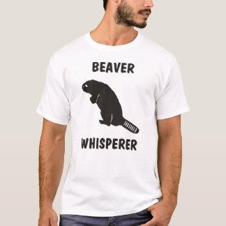 whisperer de castor t-shirt