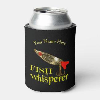 Whisperer personnalisé de poissons rafraichisseur de cannettes