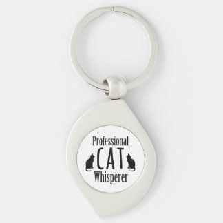 Whisperer professionnel de chat porte-clefs