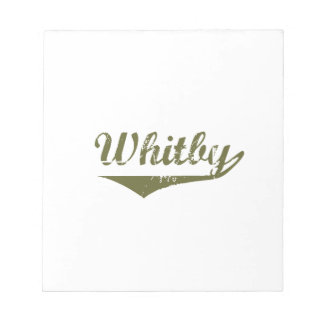 Whitby Bloc-note