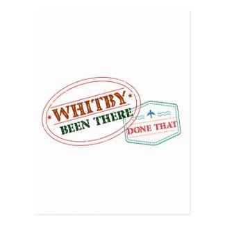 Whitby là fait cela carte postale