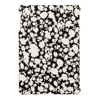 White flowers coques pour iPad mini