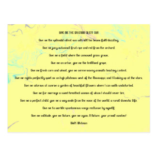Whitman Carte Postale