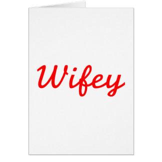 Wifey Carte De Vœux