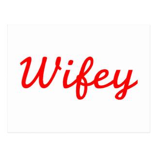 Wifey Cartes Postales