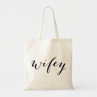 Wifey fourre-tout pour la lune de miel ou le sac
