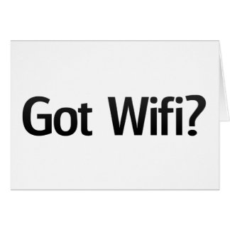 Wifi obtenu ? cartes