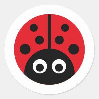 WildLaybug1 Sticker Rond