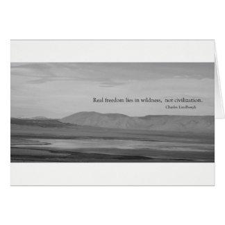 Wildness Carte De Vœux