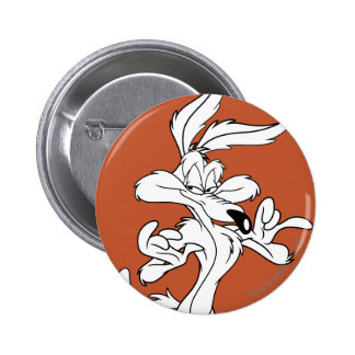 Wile E. Coyote Looking heureux Badge Rond 5 Cm