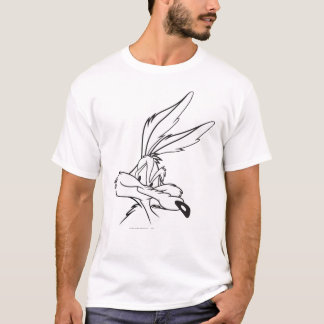 Wile E. Coyote Looking sournois T-shirts