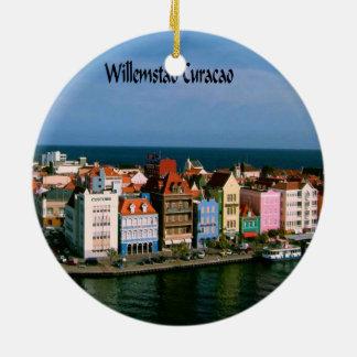 Willemstad Curaçao Ornement Rond En Céramique
