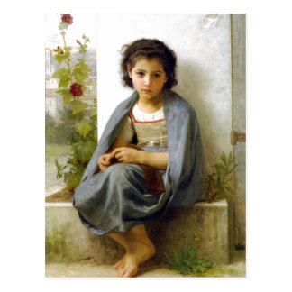 William-Adolphe Bouguereau (1825-1905) - le Littl Carte Postale