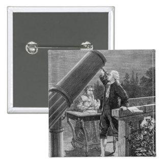 William Herschel découvre la planète Uranus Badges