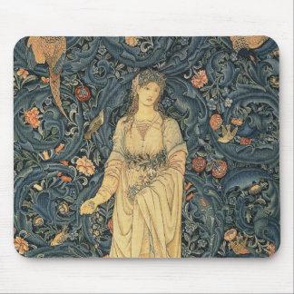 William Morris antique Flora Tapis De Souris