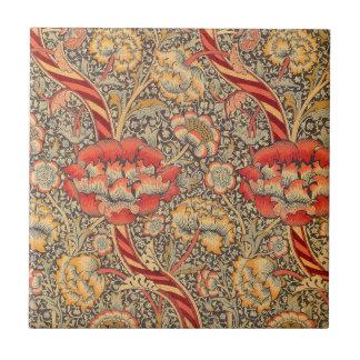 William Morris Wandle pour la conception de chintz Carreau