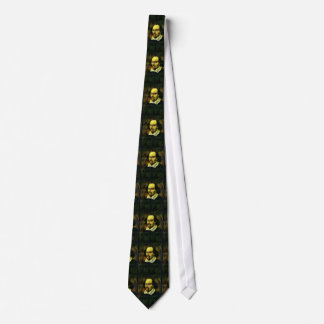 William Shakespeare a mélangé la cravate de