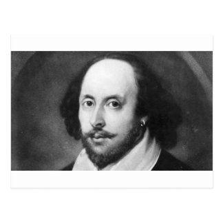 William Shakespeare Carte Postale