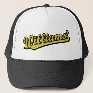 Williams en or casquette