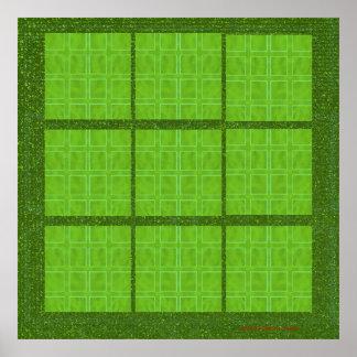 Windows vert - décorations d'extérieur d'intérieur posters