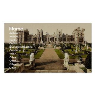 Windsor, terrasse est, Londres et banlieues, Angle Modèle De Carte De Visite