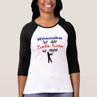 Winemaker par le chasseur de zombi de jour par t-shirt