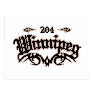 Winnipeg 204 carte postale