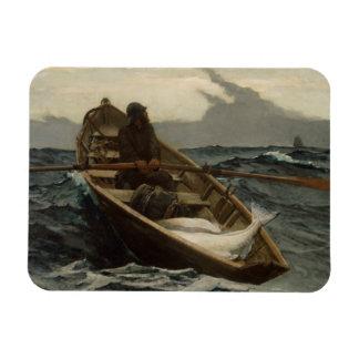 Winslow Homer - l'avertissement de brouillard Magnet Flexible