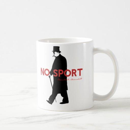 Winston Churchill, aucun sport Mug À Café