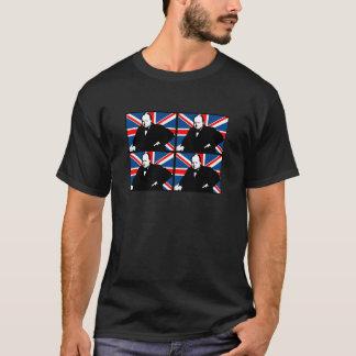 Winston Churchill et Union Jack T-shirt