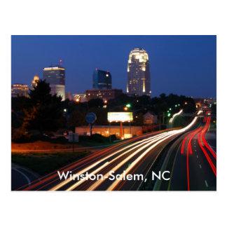 Winston-Salem, carte postale d'OR