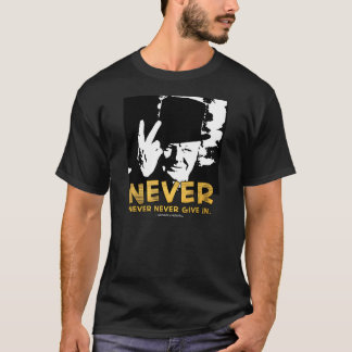 """Winston Sez """"jamais !"""" Citation de dos de Xtended T-shirt"""