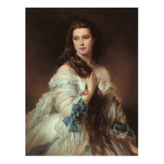 Winterhalter-Portrait de Franz Xaver de Madame Carte Postale
