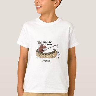 Wishin I pêchait la pêche d'orignaux T-shirt