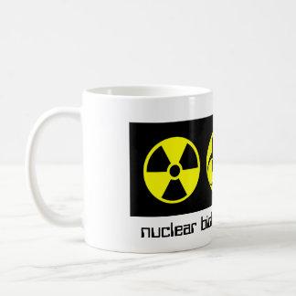 WMDsymbols, produit chimique biologique nucléaire Mug Blanc