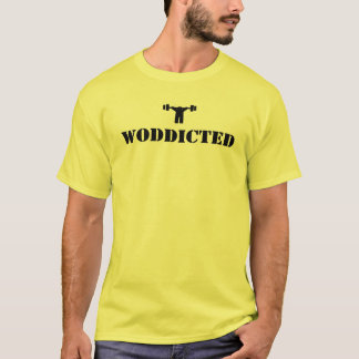 WODDICTED   (noir) T-shirt