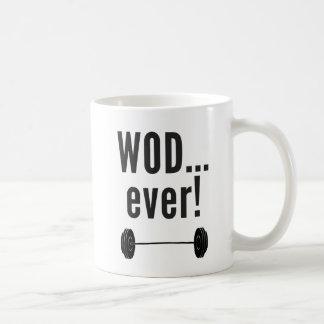 WODever !  Tasse de Crossfit-Insipired