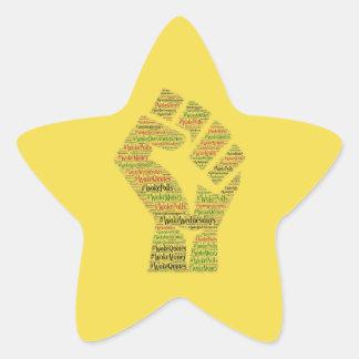 #WokeWednesdays Sticker Étoile