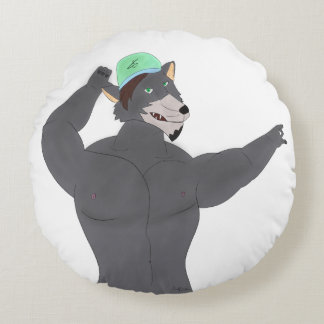 WOLF CAP ROUND CUSHIONS / COUSSIN LOUP CASQUETTE