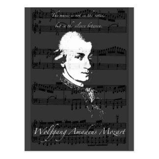 Wolfgang Amadeus Mozart Cartes Postales
